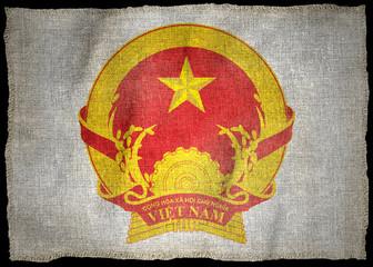 VIETNAM ARMS NATIONAL FLAG