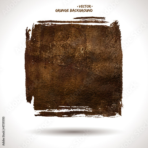 Grunge vector shape