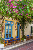 Traditional houses in Plaka area under Acropolis ,Athens,Greece - 47594338