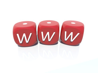 www red plastic casino gambling boxes 3D