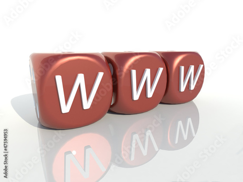 www red casino gambling cubes 3D
