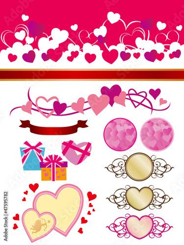 バレンタインデー 素材