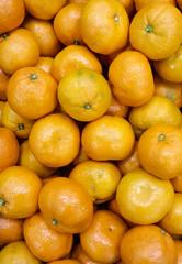 Fresh Mandarine oranges background