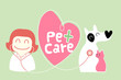 pet care illustration