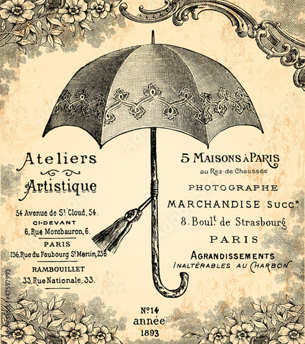 Le parapluie © lynea