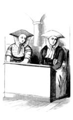 Traditional Peasants - N-E Germany : in the Church