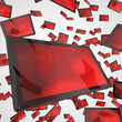Tablet-PC Schwarm - Schwarz Rot