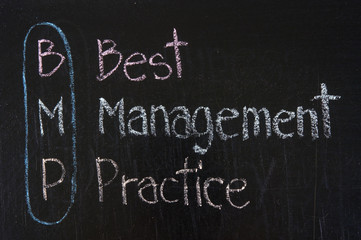 BMP acronym Best Management Practice