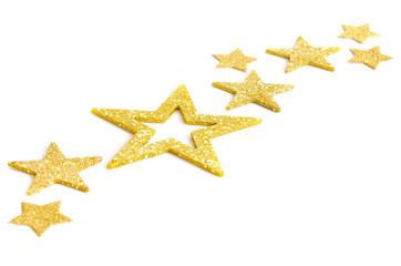 Goldenes Sternenband