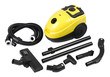 Vacuum dust cleaner and accessory isolated