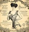 Fototapeten,korsett,frau,damenunterwäsche,1900