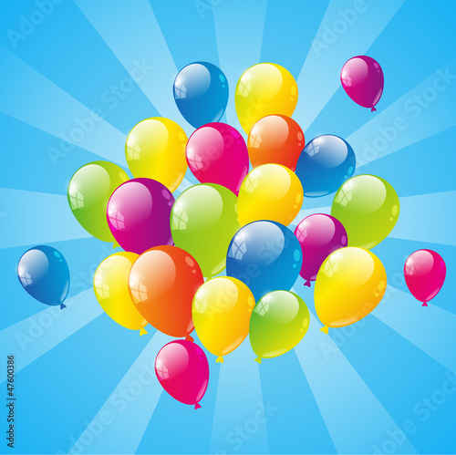 Balloon background
