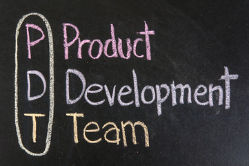 PDT acronym Product Development Team