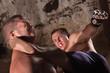 Fighter Kicks Opponent