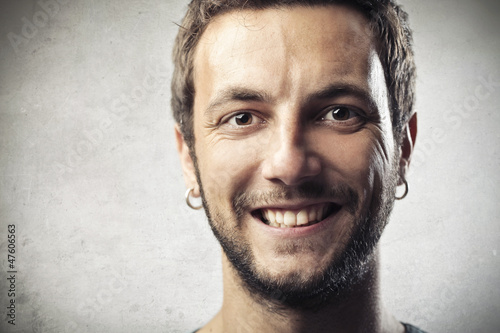 Young Man Smile