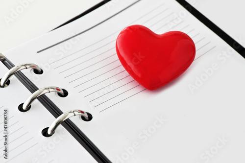 Herz und Kalender