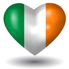 Herz mit Schatten - Irland