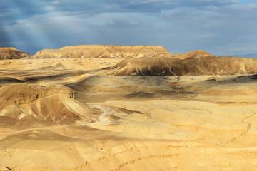 Landscapes of desert Negev