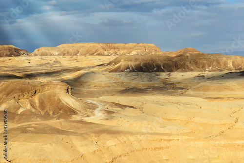 Landscapes of desert Negev
