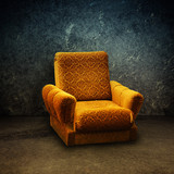 Old armchair