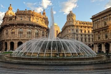 Genova,Piazza de Ferrari