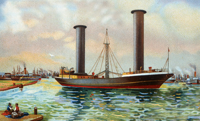 ancient boat