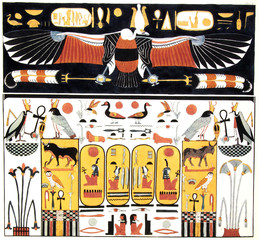 ancient egypt illustration