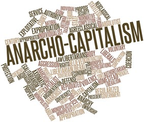 Word cloud for Anarcho-capitalism