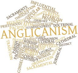 Word cloud for Anglicanism