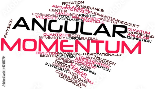 Word cloud for Angular momentum