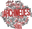 Word cloud for Archimedes