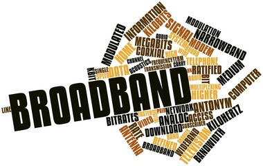 Word cloud for Broadband