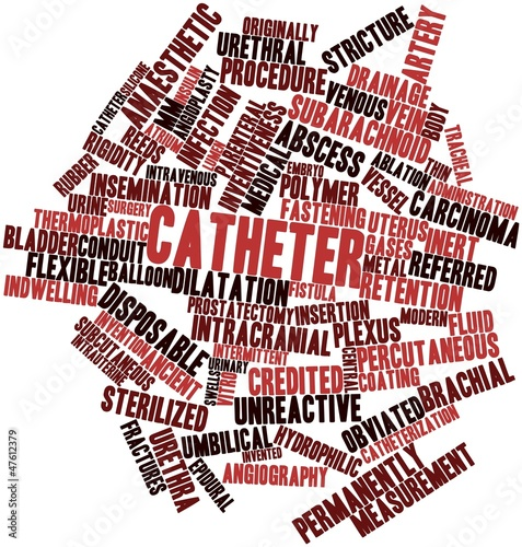 Word cloud for Catheter