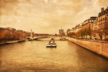 nostalgische Ansicht von Paris