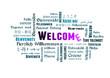 welcome - stichwort - verschiedene sprachen