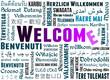 Welcome - Abbildung - Herzlich Wilkommen