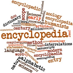 Word cloud for Encyclopedia