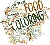 Word cloud for Food coloring