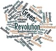 Word cloud for Green Revolution