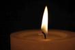 Kerzenlicht im Dunkeln