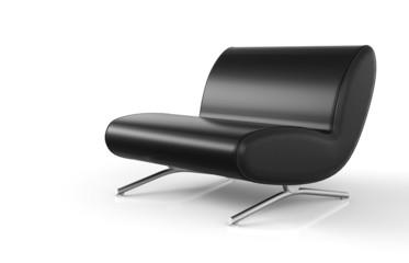 Ergonomischer Designer Sessel Schwarz