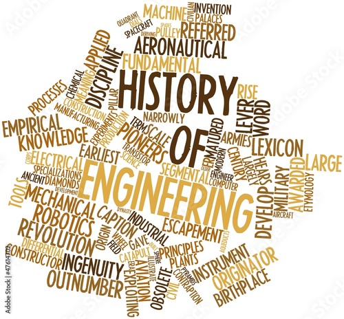 Word cloud for History of engineering