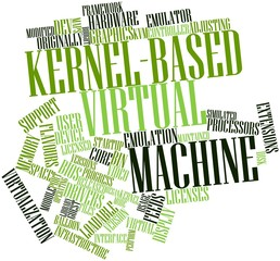 Word cloud for Kernel-based Virtual Machine