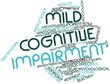 Word cloud for Mild cognitive impairment