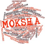 Word cloud for Moksha