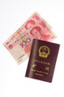 Chinese Passport and Chinese Yuan