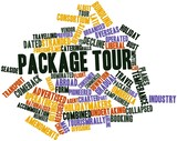 Word cloud for Package tour
