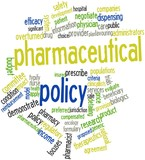 Word cloud for Pharmaceutical policy