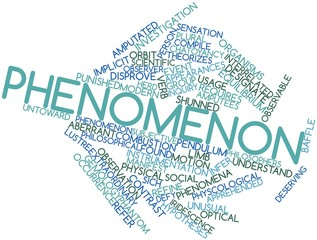 Word cloud for Phenomenon