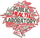Word cloud for Public health laboratory